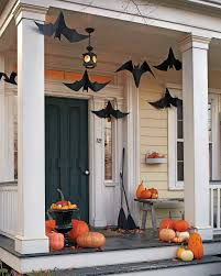 Outside Window Decorations Outdoor Halloween Decorations Martha Stewart