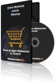 Cursus Online Workshop Joomla Webshop - Netspecialist