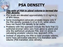 Psa Density Chart Ca Prostate