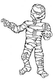 Small Picture Free Printable Mummy Coloring Pages For Kids