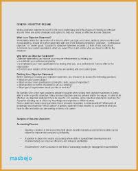 Job Objective Examples Fresh Resume Statement Examples How Write A