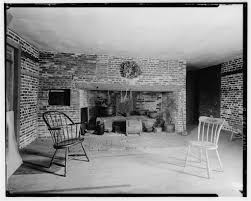 Kitchen Fireplace For Cooking Sq Outkitchen Fireplace Habs C1935 The Royall House And Slave