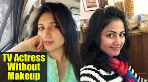 famous television actresses without makeup