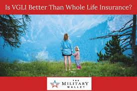 Not aafmaa offers a variety of army life insurance policies suited to meet any veteran's needs. Sgli Conversion To Vgli Why Vgli Is Better Than Whole Life Insurance