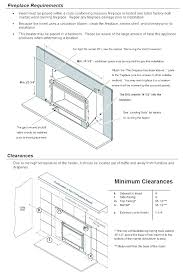 dimensions of fireplace gas fireplace insert dimensions gas fireplace insert sizes fireplace dimensions for wood burning