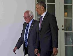「obama meets sanders at white house」の画像検索結果