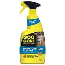 Amazon Goo Gone Patio Furniture Cleaner 24 fl oz Home & Kitchen