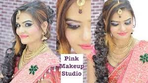 glowy makeup for wedding and reception in hindi how to do makeup easily at home