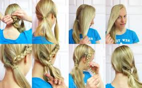 Quick Ponytail Hairstyles Simple Ponytail Hairstyle For Long Hair 4 Easy Ponytail Hairstyles