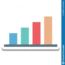 Icon Bar Chart Bar Chart Bar Graph Signal Bar Vector Icon Editable Stock