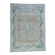10 x13 4 pure wool kerman white wash hand knotted oriental rug
