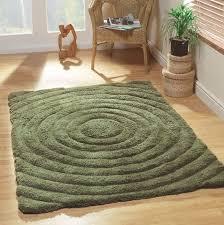 olive green area rug