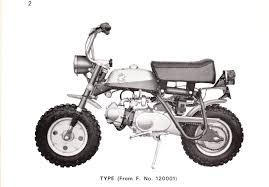 z50 a mini trail restoration project honda monkey honda z50a z50a k1 1969 1970 only year battery