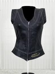harley davidson women s great fashion design leather vest
