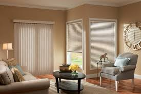 vertical blinds can be motorized for convenience