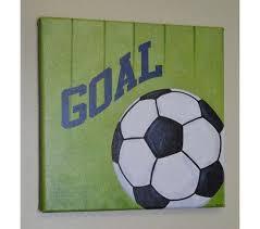 soccer wall art canvas print original