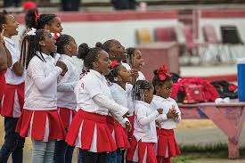 Image result for african american youth cheerleading
