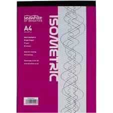 5mm Graph Paper Seawhite 5mm Isometric Graph Paper Pad A4