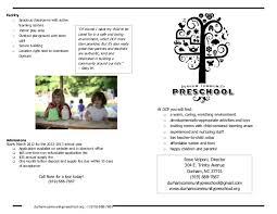 Teacher Brochure Example Brochure Sample