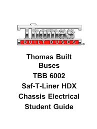 thomas built buses wiring diagrams thomas image thomas built buses tbb 6002 saf t liner hdx chassis electrical on thomas built buses wiring