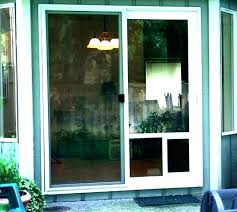 glass pet door installation pet door screen door door with dog door screen door with dog glass pet door installation