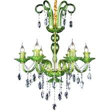 green glass chandelier green glass chandeliers fixture lighting 6 candle lights modern luxury crystal hotel dining green glass chandelier