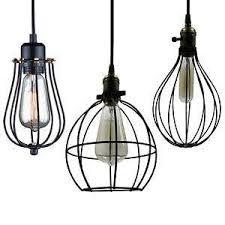 cage lighting. Vintage Cage Lights Lighting I