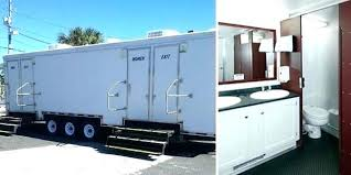 Portable Bathroom Rental Miami Luxury Portable Restroom Trailer Delectable Trailer Bathroom Rental