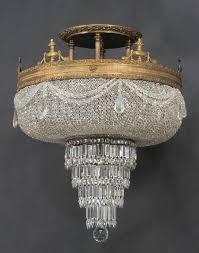 beaded crystal chandelier chandelier grand basket closdurocnoir com