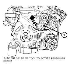 Chrysler sebring serpentine belt routing and timing diagrams chrysler engine diagram full size