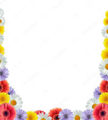Floral Borders For Word Microsoft Word Floral Borders Flower Border Stock Photo