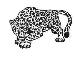 Cute Cartoon Jaguar Coloring Page Pages 2 Coloring Pages Website