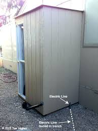 outdoor washer and dryer shed post