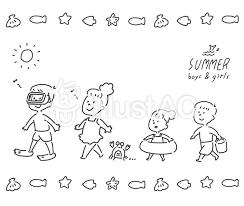 夏 子供イラスト No 1466862無料イラストならイラストac