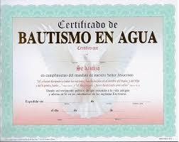 Certificado De Bautismo Template Certificados Cristianos Para Imprimir Y Editar La Roca