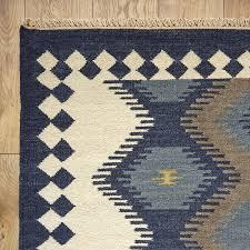 flat weave area rugs birch lanetrade anatolia flat woven wool area rug birch lane