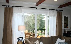 Sliding Patio Door Curtains Curtains For Sliding Glass Doors Designs