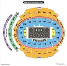 madison square garden college wrestling seating chart