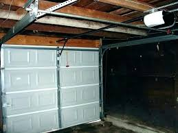 garage openers installed how much are garage door openers installed cost of a new garage door