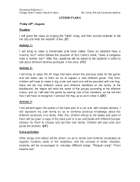 didactic sequence santo tomas preschool 11