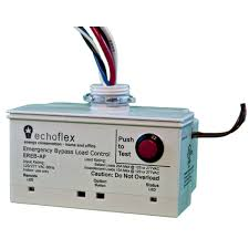 clean tech lighting temperature controls emergency bypass load the ereb a emergency bypass load controller is a ul 924 listed device that is powered from an emergency source and provides power to emergency lighting