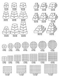 Wilton Cake Cutting Serving Chart Royal House Of Cakes Cake Size Guide Cake Servings Cake