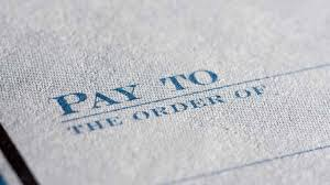 why you still need paper checks and how to use them safely paper check pay to line