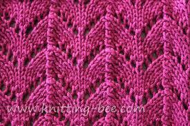 Knitting Stitches Patterns Awesome Horseshoe Lace Knitting Stitch ⋆ Knitting Bee