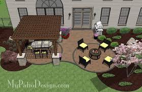Chic Patio Design Plans Innovative Patio Design Plans Great Design
