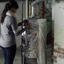 tutorial water heater insulation blanket