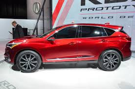 2019 Acura RDX Is a Crystall Ball For an SUV Future in Detroit ...