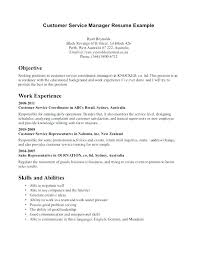 Cashier On Resume Custom Resume Objectives For Customer Service Representative Resumes