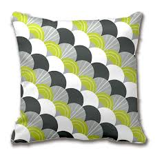 green and gray pillows. Perfect And Cheap Cushion Cover Buy Quality Cover Pattern Directly From China  Covers Suppliers Modern Scallop Fan Pattern Charcoal Grey Green  In And Gray Pillows M