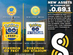 The Silph Road's APK mine of v0.69.1 is complete! Only bug fixes this time  ... and new assets for the 'Pokemon GO Stadium' event on Aug. 14 in  Yokohama!: TheSilphRoad